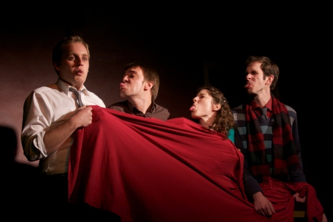 Oh Theodora - Conor Sullivan, Trevor Martin, Lisa Dellagiarino, Buck LePard - Photo by Krystle Gemnich