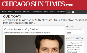 Interview on ChicagoSunTimes.com